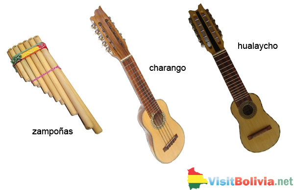 Bolivian music instruments