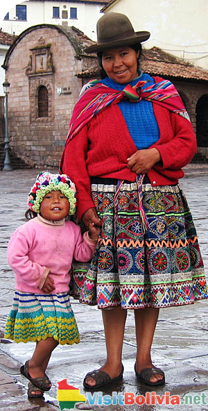 Typical Bolivian Dress