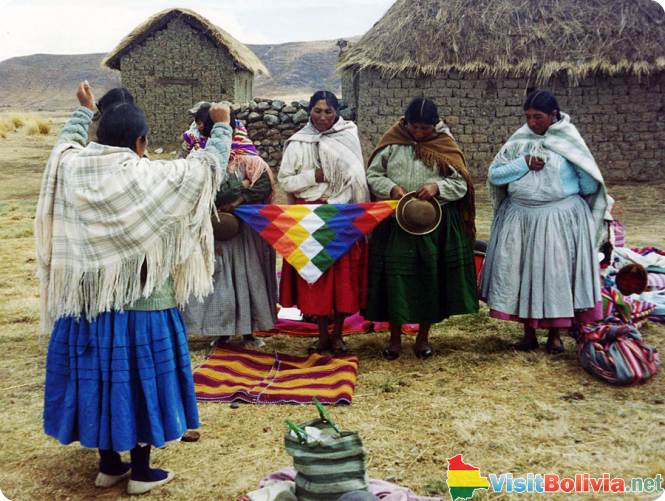 Traditional Bolivian Women